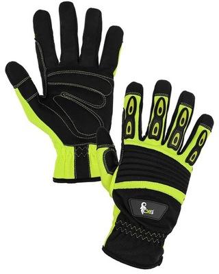 перчатки рабочие ЕМА CXS точной механик 9 L