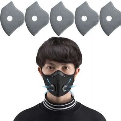 Maska FFP2 KN95 antywirusowa ochronna +5 Filtr