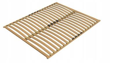 Stelaż do łóżka 120x180, drewniany. Mocne listwy