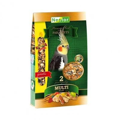 Pokarm dla papug nimfy Premium Nestor 1400ml+KOLBA