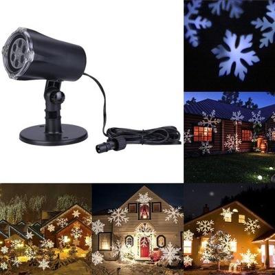 Projektor Laserowy Swiateczny Sniezki Led Bialy 7673351422 Oficjalne Archiwum Allegro