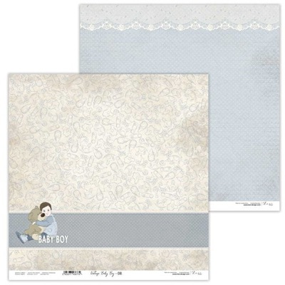 Arkusz papieru LL 30x30cm - Vintage Baby Boy - 08