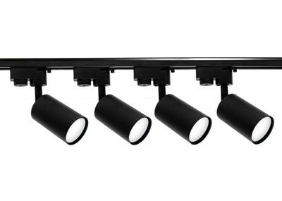 Zestaw Szynoprzewód Szyna 2m + 4x Lampa GU10 LED