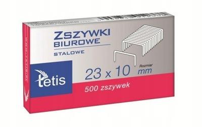ZSZYWKI TETIS 23/10 500 SZT.
