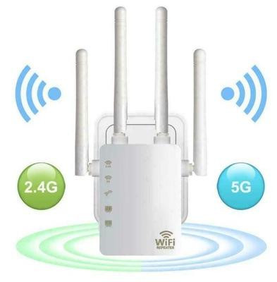 1200 Mb/s WZMACNIACZ SYGNAŁU WiFi WLAN REPEATER