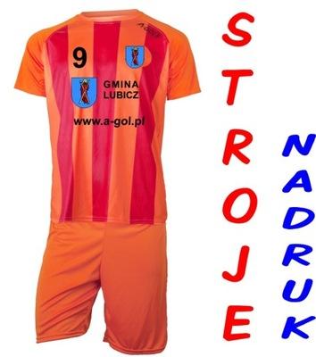 Strój piłkarski z NADRUKIEM loga 25 A-GOL