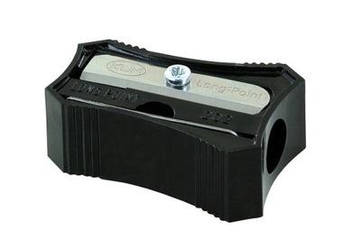 Temperówka wydłużająca plastikowa czarna KUM