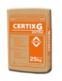 Certix G EXTRA (płuczka do przewiertów sterowanych