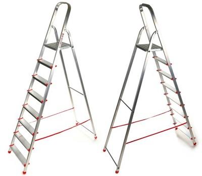 Лестница на дому 7 постепенное алюминиевая 3 ,40м