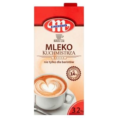 Молоко УВТ kuchmistrza 3 ,2 % 1 L