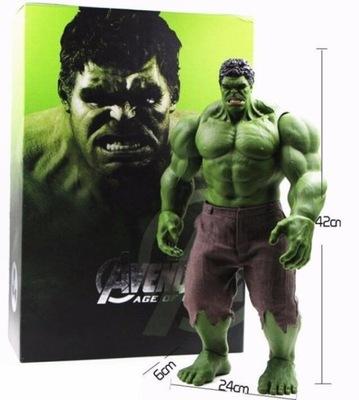 42cm duży rozmiar Hulk figurka zabawki