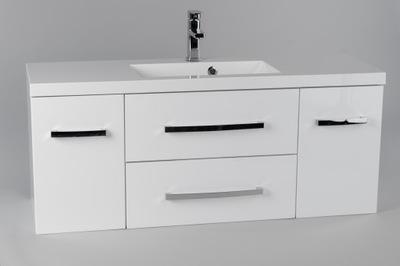 Zestaw łazienkowy szafka z umywalką CLCH 120 x 39