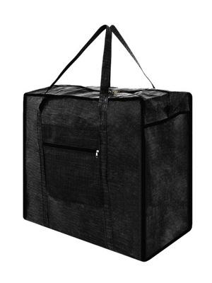 Torba czarna zakupowa bazarowa 04-50/63/28 gr cz