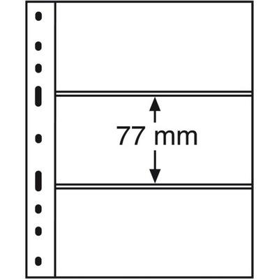 Strony Karty na Trzy banknoty Leuchtturm Optima 3C