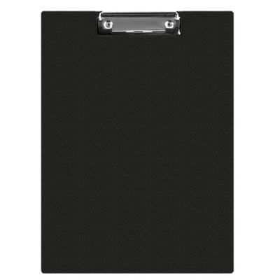 Clipboard teczka PVC A4 czarny podkład z klipem