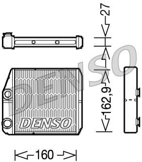 DENSO DRR09035 CALENTADOR / WYMIENNIK CIEPLA