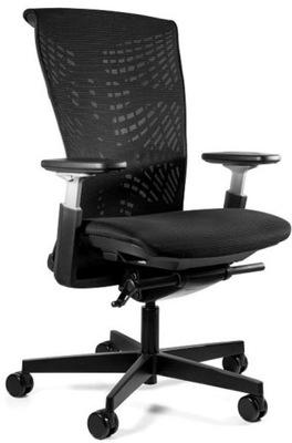 Intey krzesło biurowe czarne do 110 kg, 4a227 8360111680
