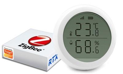 Czujnik temperatury wilgotności ZigBee TUYA LCD