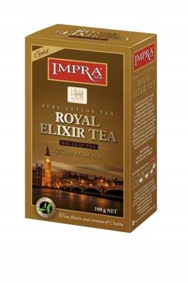 ??? черная Вечеринка Чай Royal Elixir Gold 100г li