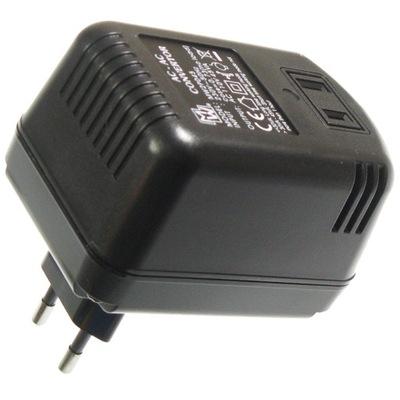 Zasilacz transformator 230V/110V 45W USA konwerter