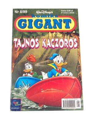 KOMIKS GIGANT 8/99 TAJNOS KACZOROS