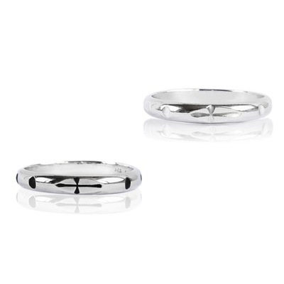 srebrny różaniec na palec pierścionek unikatowy 26