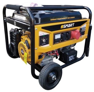 Smart SM-01-6500S3 benzín, generátor, 5.0 kW