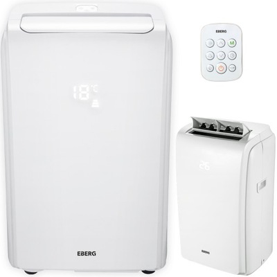 Кондиционер портативный EBERG COOLY 3 ,2квт 4w1 Wi-fi