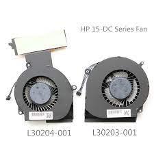 WENTYLATORY CPU + GPU HP OMEN 15-DC