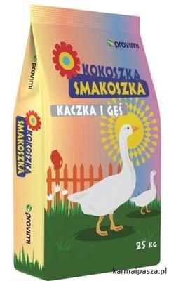 KOKOSZKA SMAKOSZKA утка гусь 25 кг корм Паша