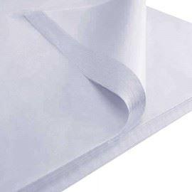 бумага гладкая SilkPaper 50х70 ??  белая 50 штук