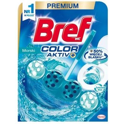 BREF kostka do WC Color Aktiv barwiąca 50g OCEAN