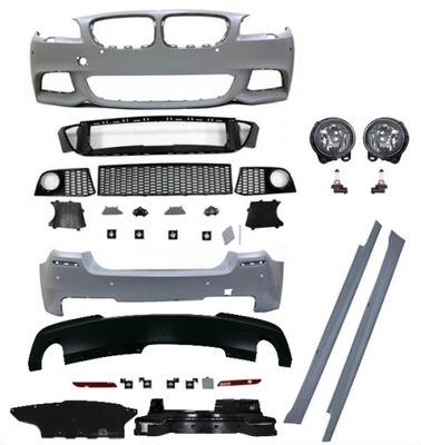 BMW F10 10-13 М-пакет задний бампер передний пороги