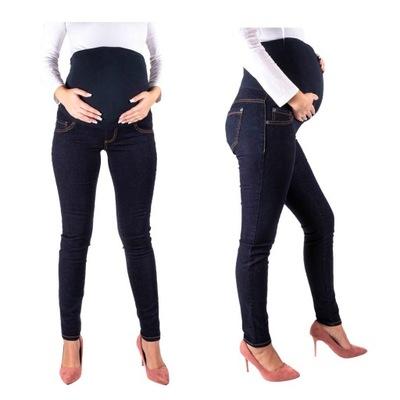SPODNIE CIĄŻOWE jeansy SPODNIE ciążowe M