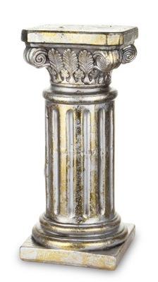 KERAMICKÝ STĹPEC KVETOVÝ STOJAN ZLATÝ 135005