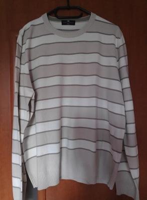 Sweterek w paseczki Rozm L/XL