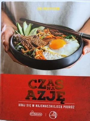 ''CZAS NA AZJĘ'' książka kulinarna 120 PRZEPISÓW!!