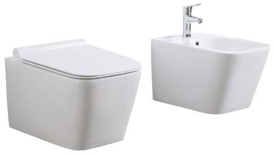 комплект Instagram CONO ракушка миска туалет + БИДЕ