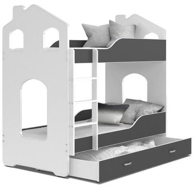 кровать кровать ДОМИНИК КОТТЕДЖ 160x80 + 2 Матрасы