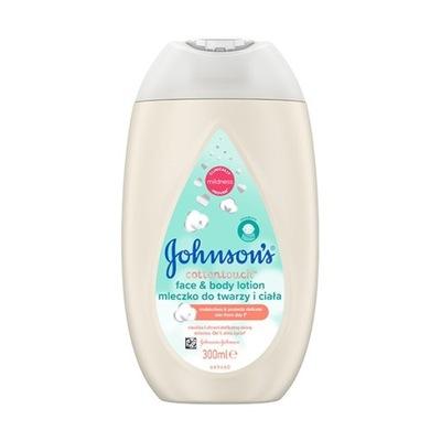 Johnson's Cotton Touch Mleczko do twarzy i ciała