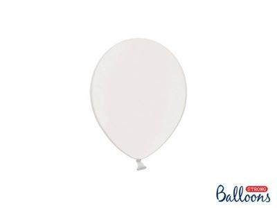 średnica 12cm Metallic Pure White Strong balony