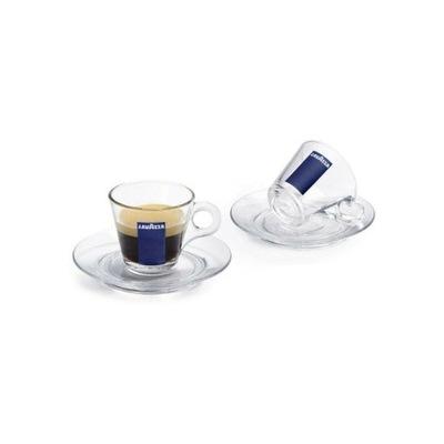 чашка Lavazza эспрессо 70ml блюдце стекло 1шт