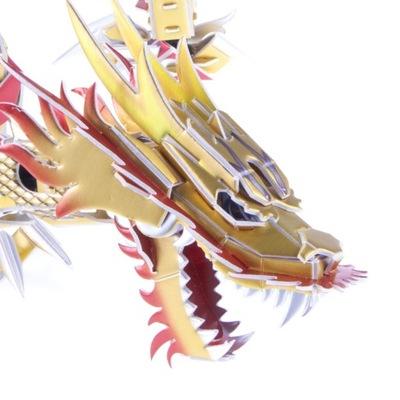 Smok Chiński Puzzle 3D