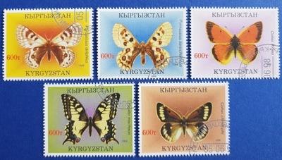 T.0447 Znaczki seria Fauna Motyle owady