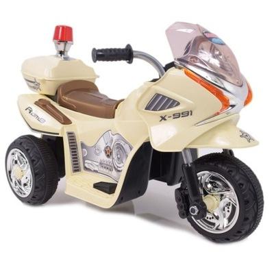 MOTOR MOTOREK POLÍCIE S KOHÚTOM NA BATÉRIE