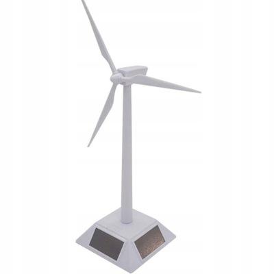 Wiatrak zasilany energią słoneczną zabawki dla