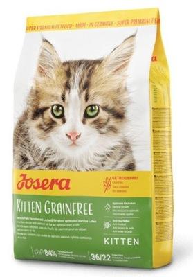 Krmivo pre mačky Josera Kitten Grainfree 2kg