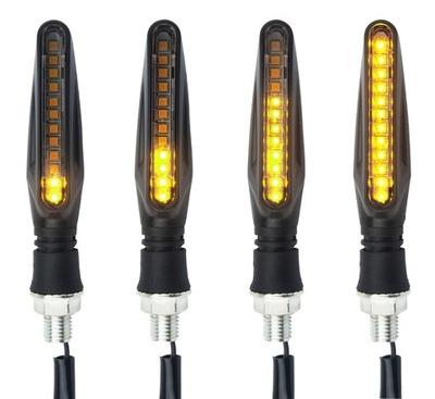 ПОВОРОТНИКИ MIGACZE DYNAMICZNE STRZAŁKI 4X LED
