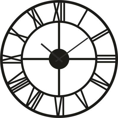 Большой часы instagram римский РЕТРО чердак Черный 70cm