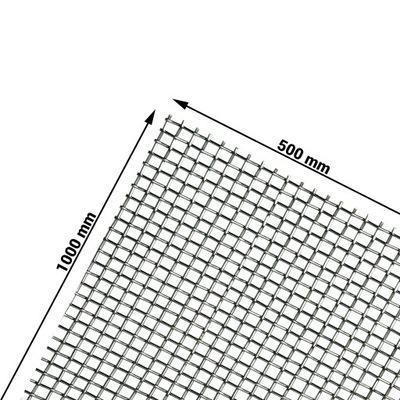 Сетка сталь chromo никелированная Ноль ,50 /Ноль ,25 Ноль ,5м2